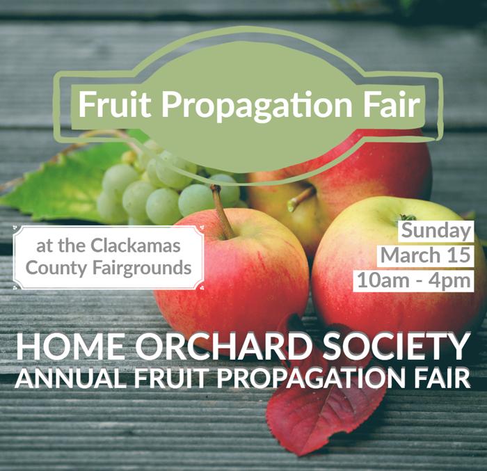 Home Orchard Society Annual Fruit Propagation Fair