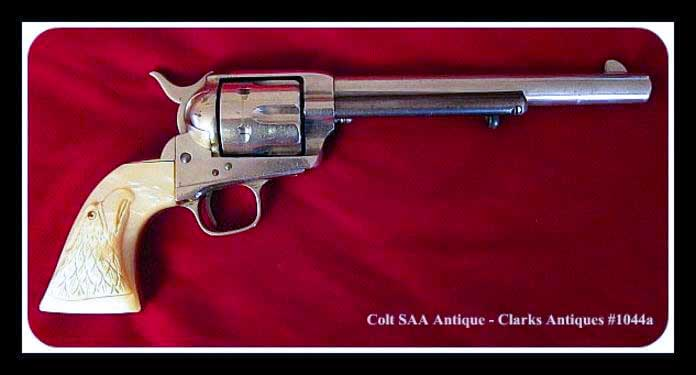 Antique Colt SAA Cavalry Revolver