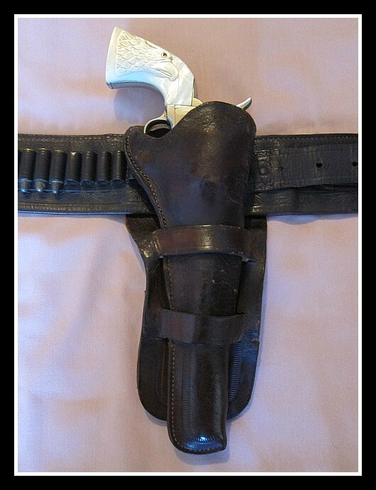 Montgomery Ward Marked Holster for Colt SAA