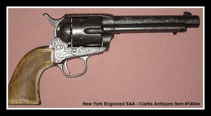 Nimschke Engraved Colt SAA full view pic 2