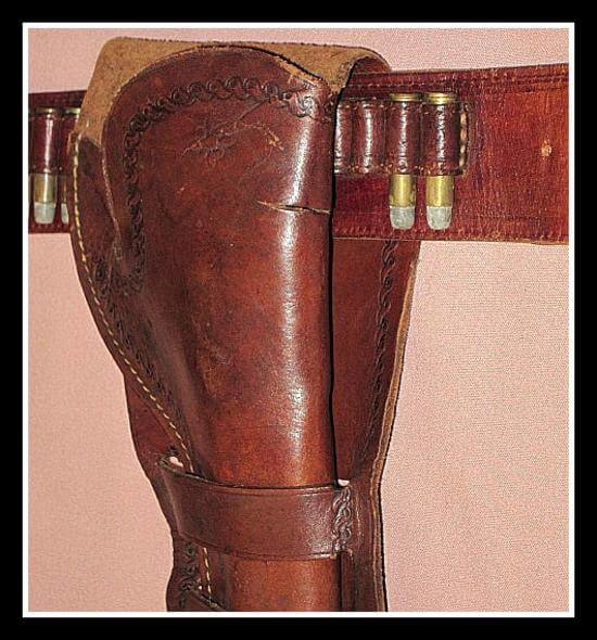 Western Holster and Belt Rig catalog type