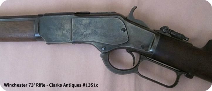 Left side frame for this Winchester 1873 Rifle