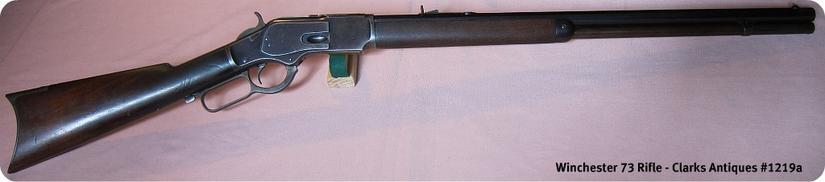 Winchester 1873 Rifle 38 Caliber