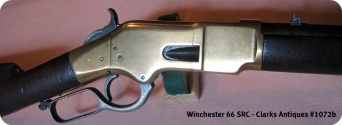 Winchester 1866 Trapper SRC right side frame