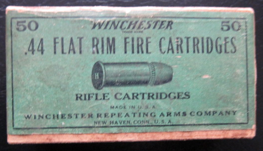 44 Henry Flat Rimfire Top View