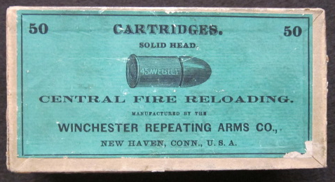 45 Webley Antique Ammo