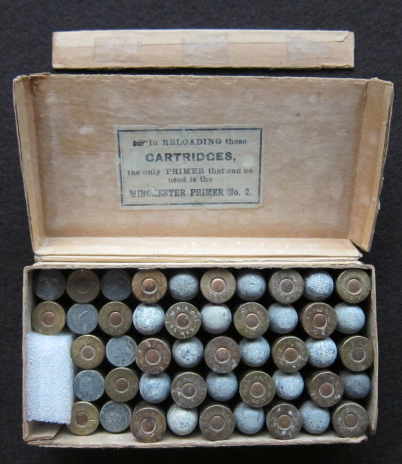 45 Webley Antique Ammo Cartridges