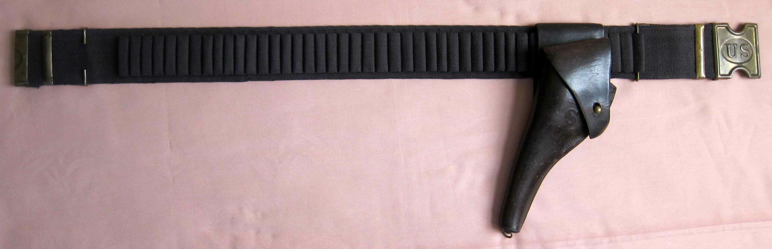 Colt 38 DA Holster & Web Belt