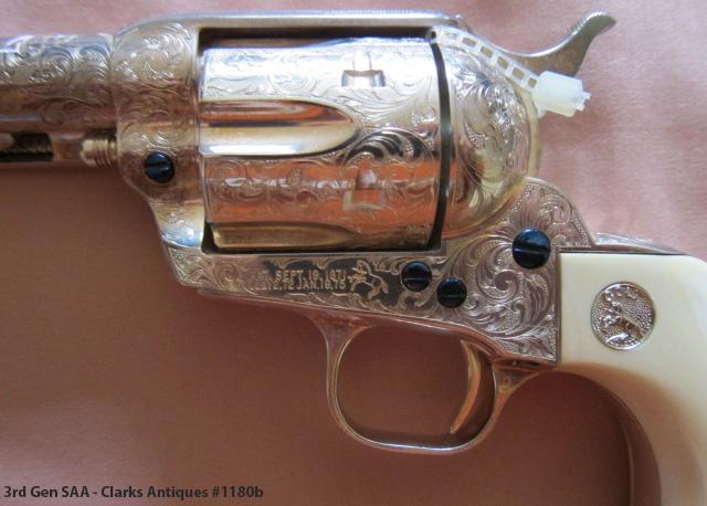 Colt SAA 3rd Gen - Factory Engraved