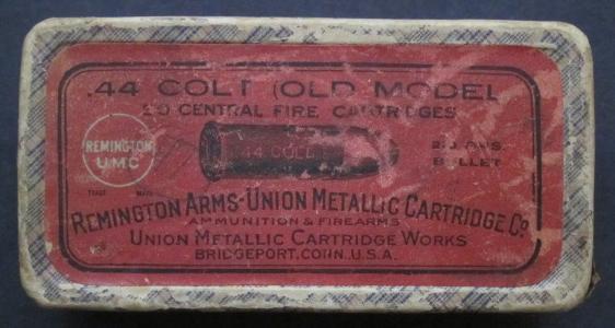 Antique 44 Colt Ammo