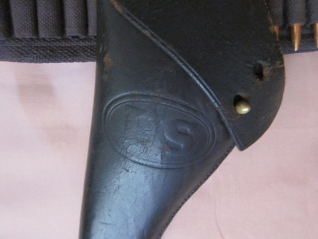 1896 Military Flap Holster US marking