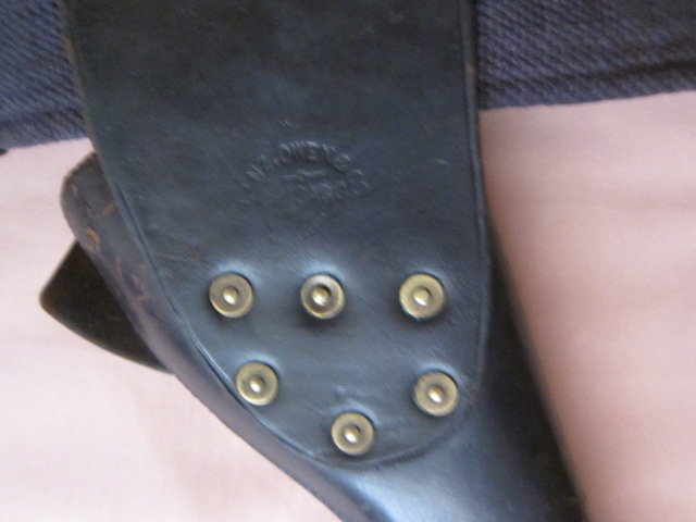 1896 Military Flap Holster Makers Mark