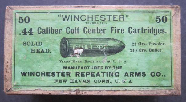 Antique Colt 44 Ammo