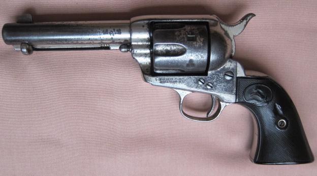 "Colt 45 with  4-3/4"" Barrel"