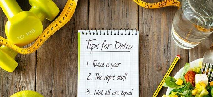Tips for detox