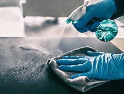 Surface sanitizing