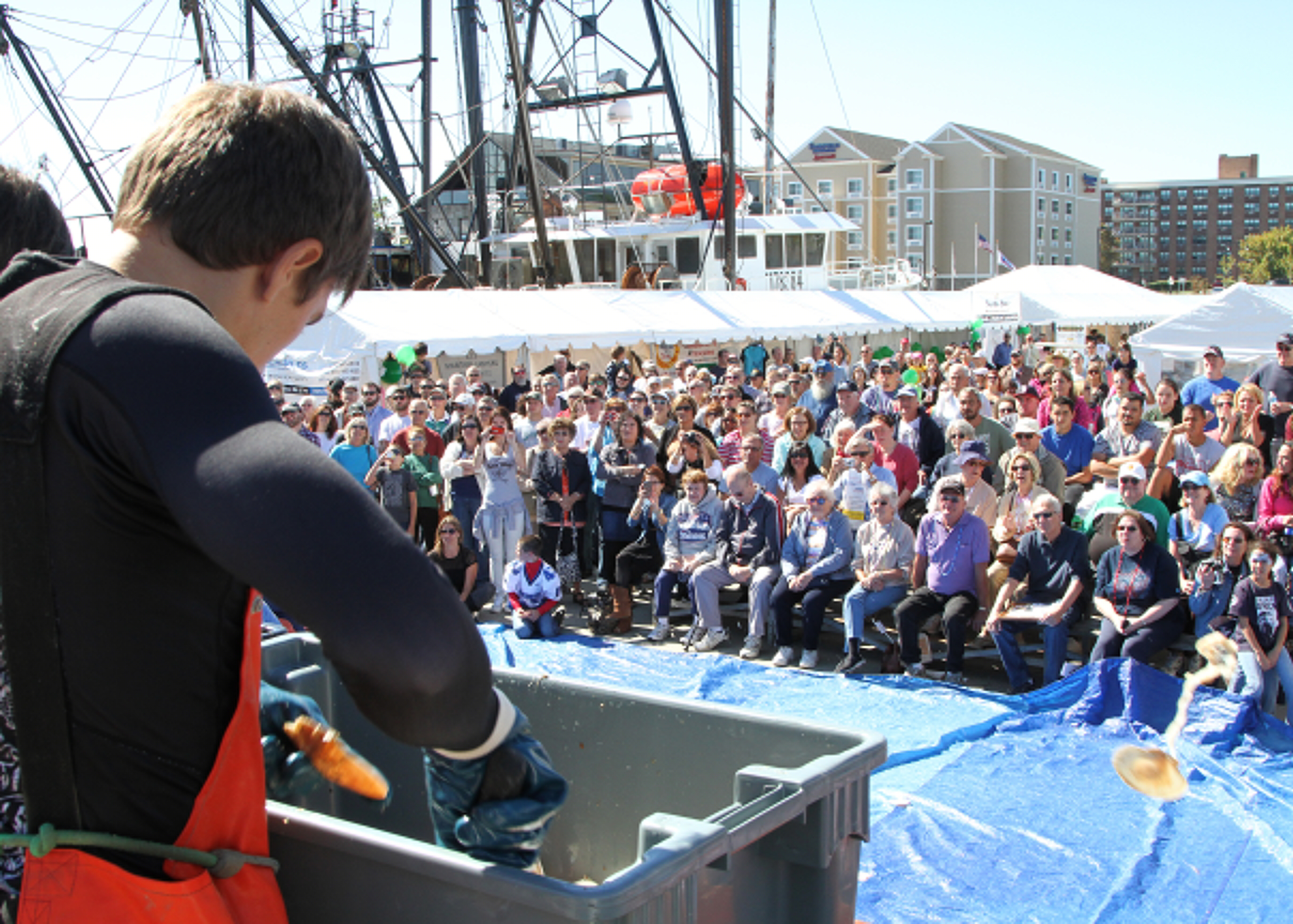 Scallop Shucking Contest