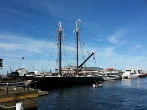 The Schooner Adventure