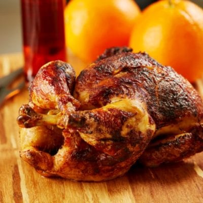 Simple Roasted Whole Chicken