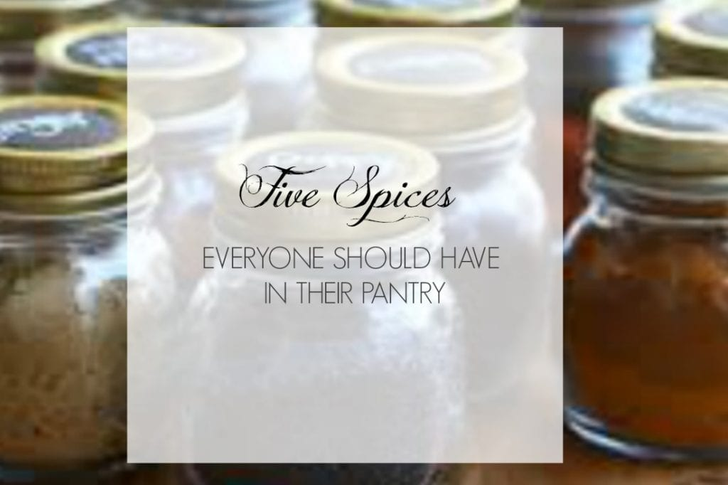 Five Best Spices Everyone Should Have In Their Pantry by Momma Chef