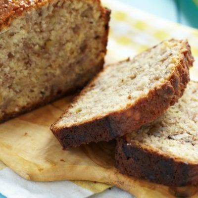 The Best 6-Ingredient Banana Bread