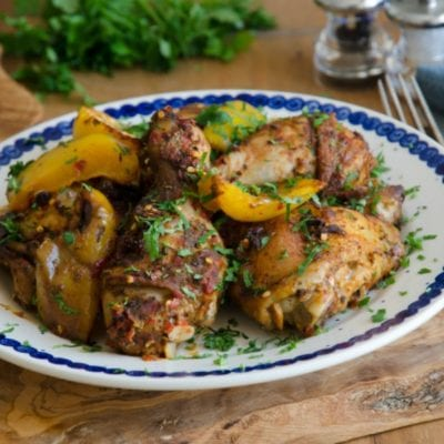Simple and Delicious Healthy Greek Chicken