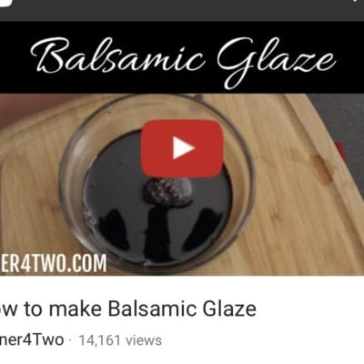 How to Make Balsamic Glaze If You Don't Have Any On-Hand