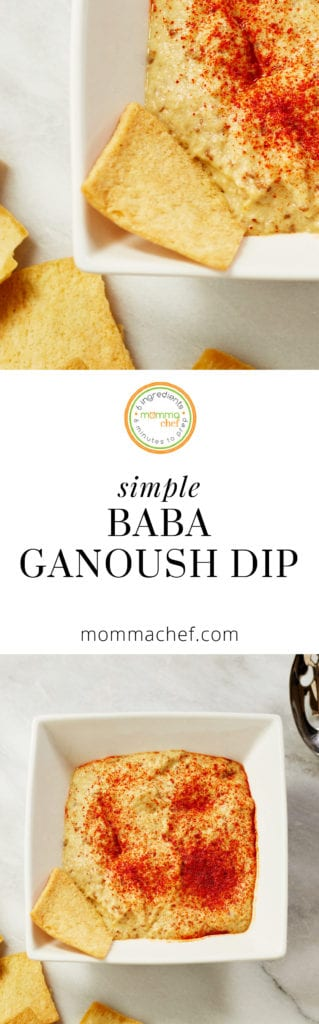 Quick and Easy Baba Ganoush Dip