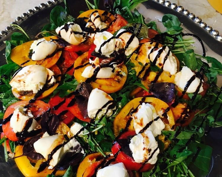 Quick and Easy Caprese Salad