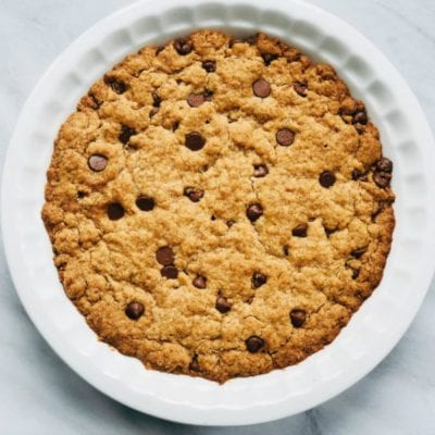 The Easiest Chocolate Chip Cookie Pie Recipe