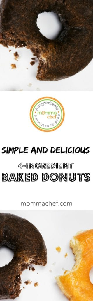 Quick and Easy Baked Donut only 4-Ingredients