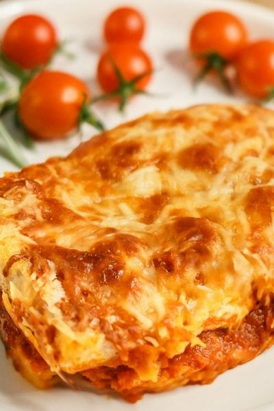Quick and Easy No Boil Grilled Cheese Lasagna