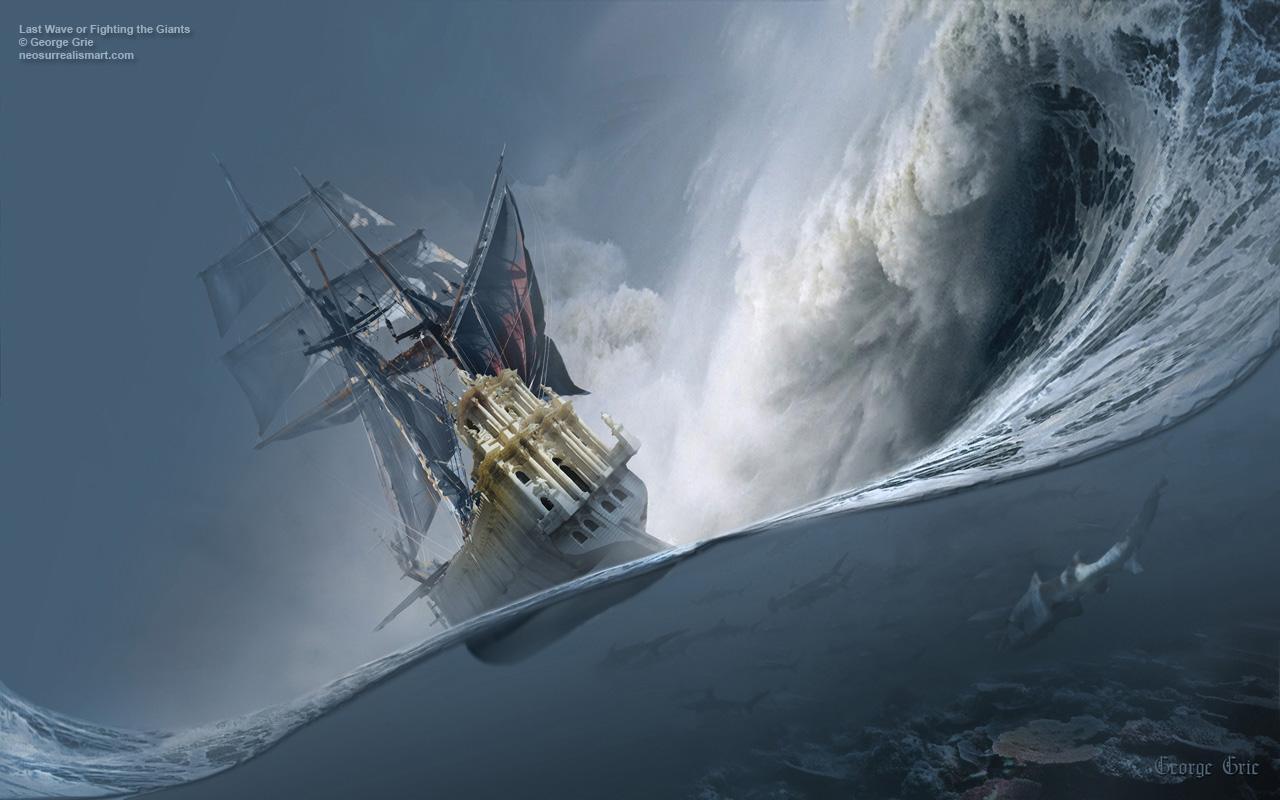 When Is a Ship Better Than a Raft?