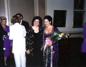 Nyela Basney, recitalist, pianist, Renee Fleming