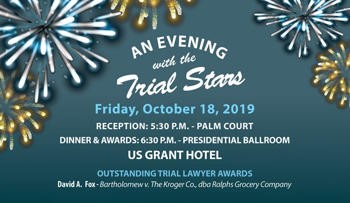 Kroger Hours Christmas Eve 2019.Outstanding Trial Lawyer Award From Consumer Attorneys Of