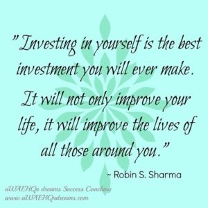 Quote about investing in yourself