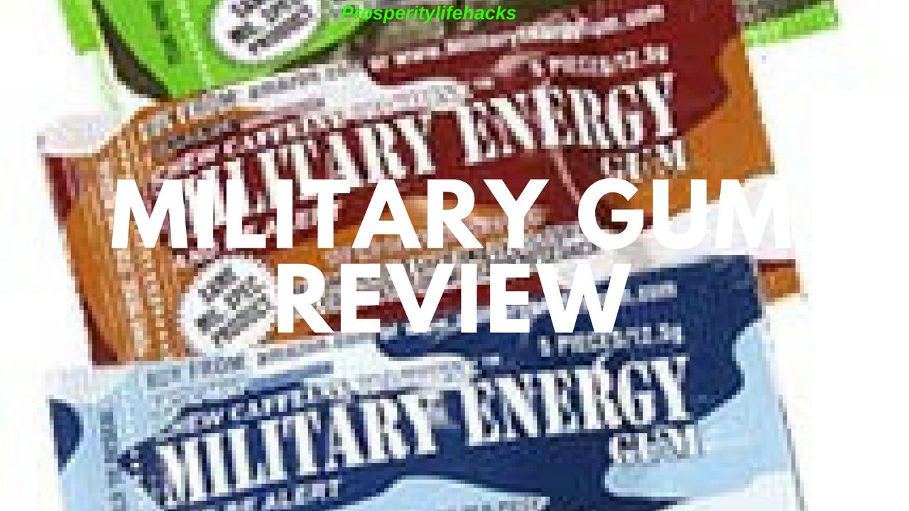 Military Gum Review