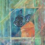 "Bijou 12"" X 8"" Acrylic on canvas"