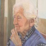 Portrait of Grandma Watercolor on paper