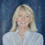 Portrait of Susan Acrylics on canvas