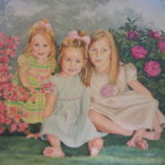 Three Sisters Acrylic on canvas