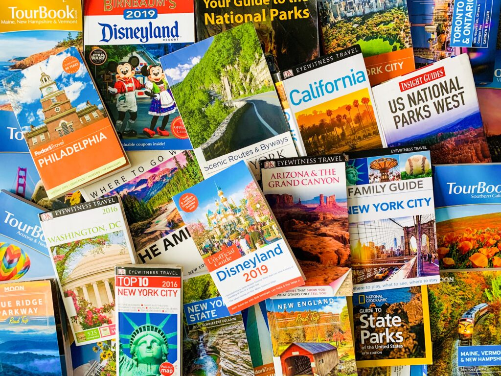 Vacation planning books. It might not be the right time to travel just yet but that doesn't mean you can get cracking on your planning. Here on Mom Abroad you'll find lots of vacation inspiration.