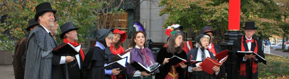 The Holiday Singers uptown Charlotte NC