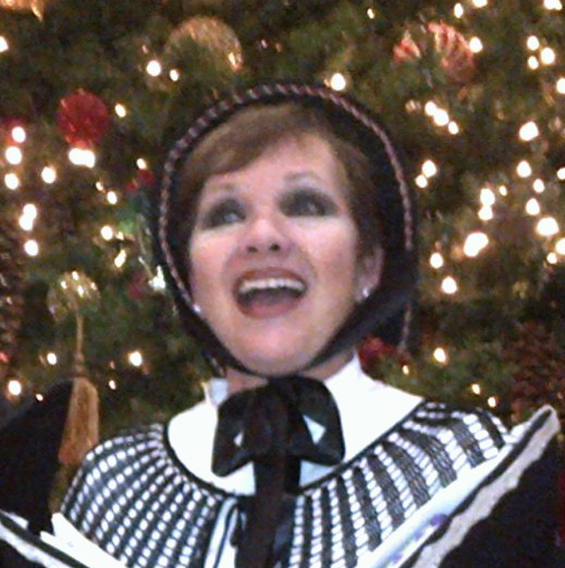 The Holiday Singers' Linda Mayo