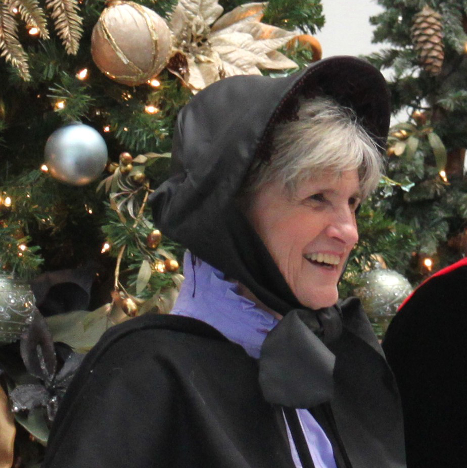 The Holiday Singers' Theresa Gibson
