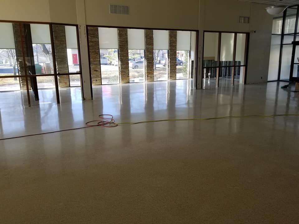 Harco Midwest Terazzo Floor Restoration Project Fenton MO