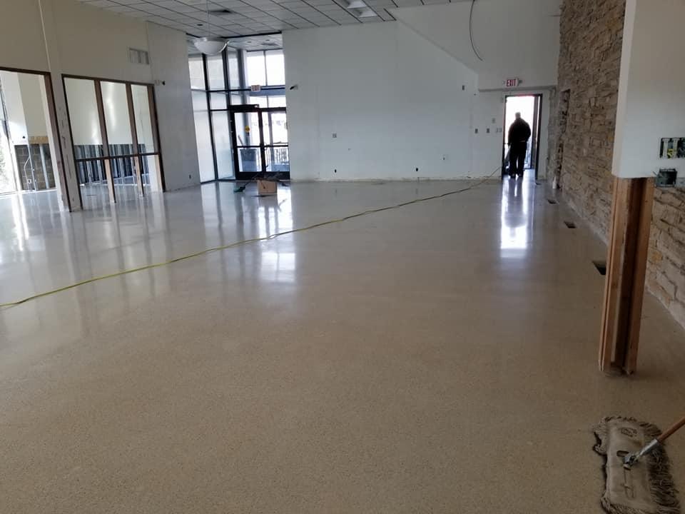 Terrazzo Floor Restoration Fenton MO 1