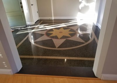 Terrazzo Floor Polish Ballwin MO Residence