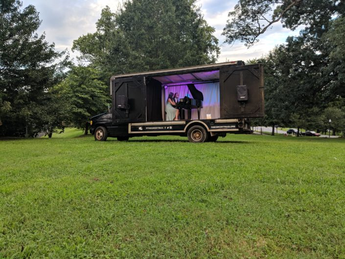 Burkholder Agency Client the Concert Truck at Druid Hill