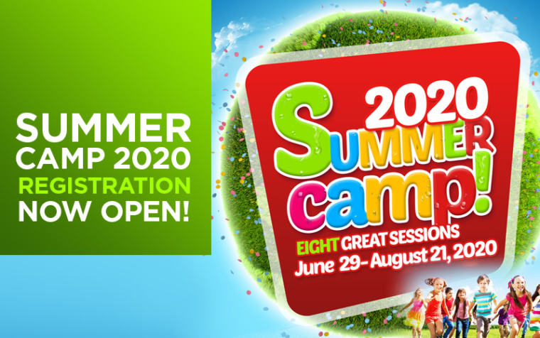 Summer Camp 2020 Registration is Now Open!